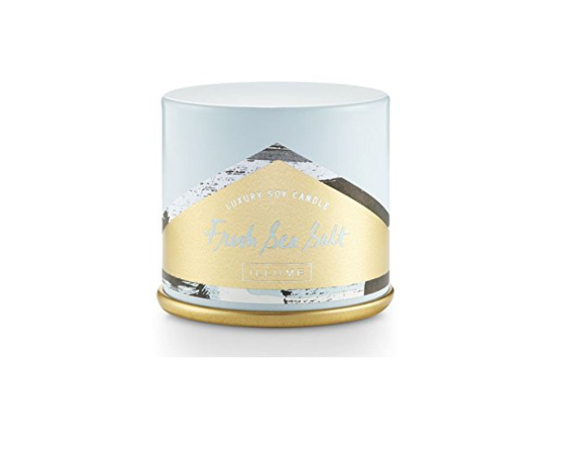Illume Fresh Sea Salt Demi Candle Tin
