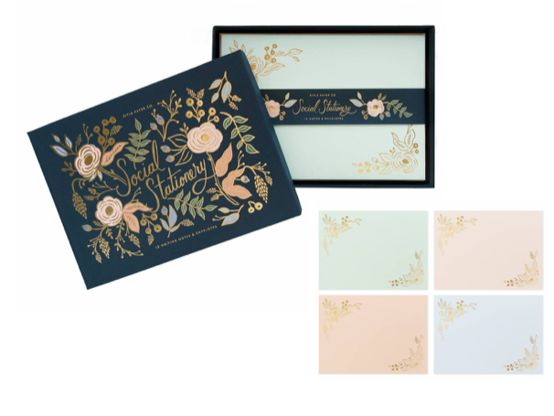 Rifle Paper Co. Colette Social Stationery Set (+$6)