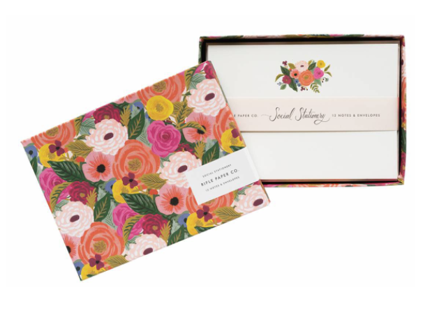 Rifle Paper Co. Juliet Rose Social Stationery Set (+$6)