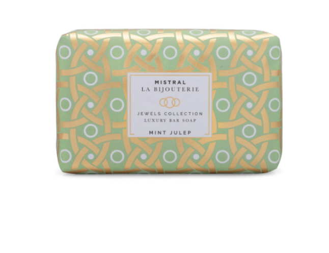 Mistral - Mint Julep Jewels Luxury Bar Soap