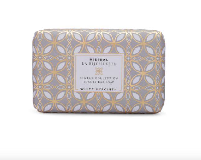 Mistral - White Hyacinth Luxury Bar Soap