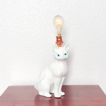 Jewel Eyed Cat Lamp