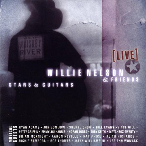 WILLIE & FRIENDS NELSON - LIVE - STARS & GUITARS - CD New