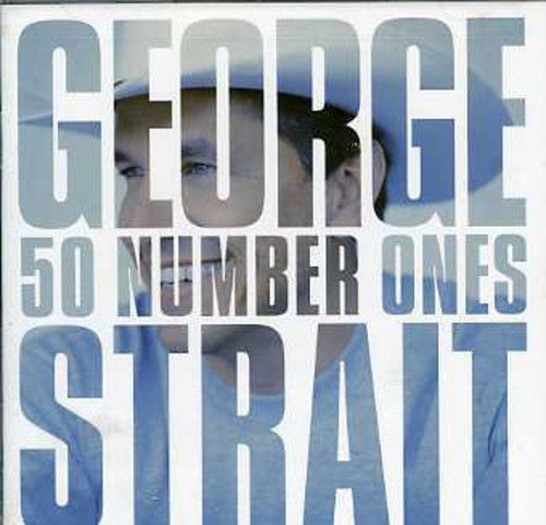 STRAIT, GEORGE - 50 NUMBER ONES (CD) - CD New
