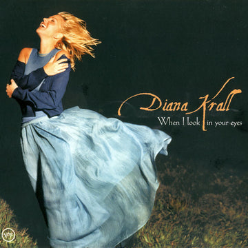 DIANA KRALL - WHEN I LOOK IN YOUR EYES - Damaged Cover