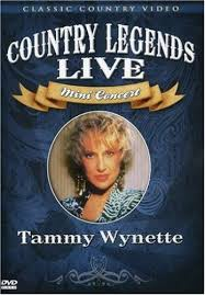 TAMMY WYNETTE - COUNTRY LEGENDS LIVE - Video DVD