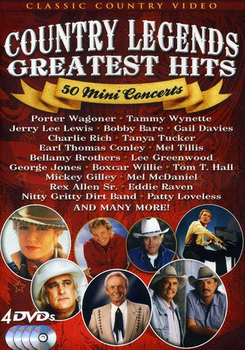 VARIOUS ARTISTS - COUNTRY LEGENDS GREATEST HITS - Video DVD