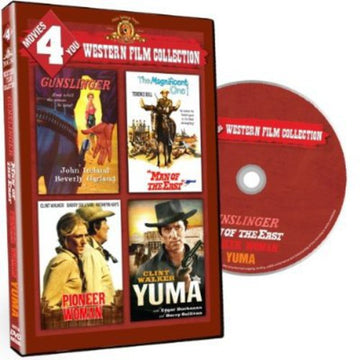 MOVIES 4 YOU: WESTERN FILM COLLECTION - MOVIES 4 YOU: WESTERN FILM COLLECTION - Video DVD