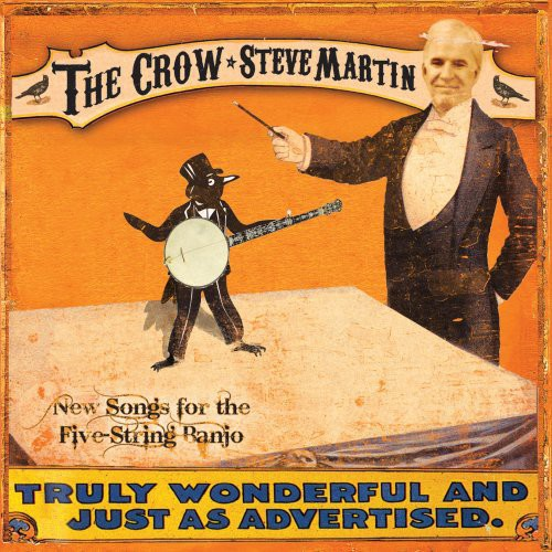 STEVE MARTIN - CROW: NEW SONGS FOR THE 5-STRING BA - CD New