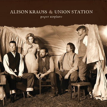 ALISON & UNION STATION KRAUSS - PAPER AIRPLANE - Vinyl New