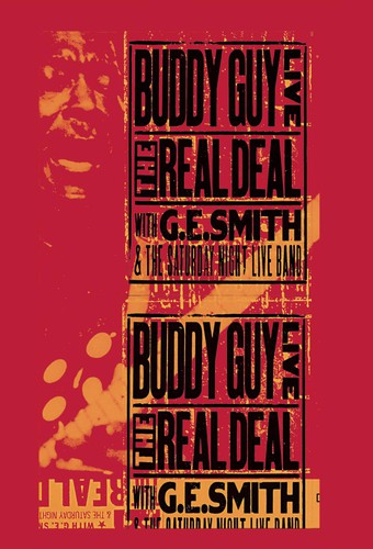 BUDDY GUY - LIVE: REAL DEAL WITH GE SMITH & SNL BAND - Video DVD
