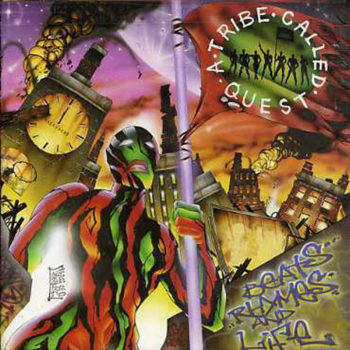 A TRIBE CALLED QUEST - BEATS RHYMES & LIFE (CD)
