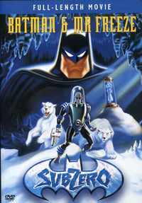 MOVIE DVD - BATMAN & MR FREEZE: SUBZERO DVD