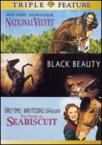 DVD MOVIE - NATIONAL VELVET/BLACK BEAUTY/SEABIS - Video DVD