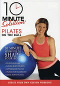 10 MINUTE SOLUTION: PILATES ON THE BALL - 10 MINUTE SOLUTION: PILATES ON THE BALL - Video DVD