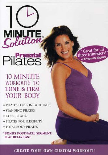 10 MINUTE SOLUTION: PRENATAL PILATES - 10 MINUTE SOLUTION: PRENATAL PILATES - Video DVD