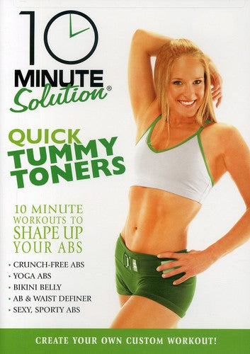 10 MINUTE SOLUTION: QUICK TUMMY TONERS - 10 MINUTE SOLUTION: QUICK TUMMY TONERS - Video DVD