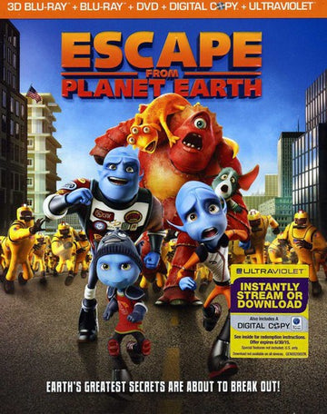 ESCAPE FROM PLANET EARTH - ESCAPE FROM PLANET EARTH - Video BluRay