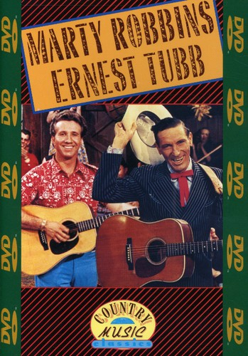ROBBINS, MARTY & ERNEST TUBB - COUNTRY MUSIC (DVD)