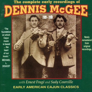 DENNIS MCGEE - COMPLETE RECORDINGS 1929-30 - CD New