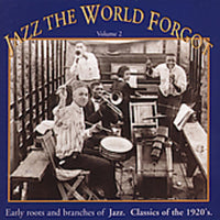 JAZZ THE WORLD FORGOT 2 / VARIOUS - JAZZ THE WORLD FORGOT 2 / VARIOUS