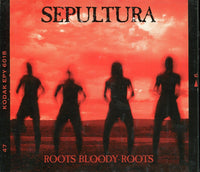 SEPULTURA - ROOTS BLOODY ROOTS Digipack - CD Used Single
