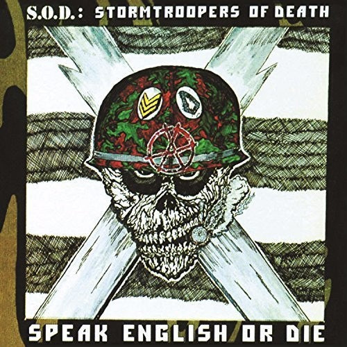 S.O.D. (STORMTROOPERS OF DEATH) - SPEAK ENGLISH OR DIE (30TH ANNIVERSARY E (Vinyl LP)