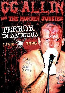 GG ALLIN - Terror in America-Live 1993 (DVD) - Video DVD