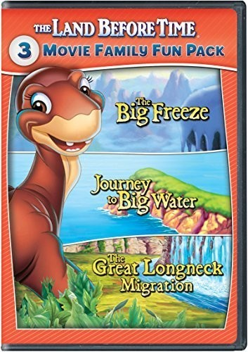 LAND BEFORE TIME VIII-X 3-MOVIE FAMILY F - LAND BEFORE TIME VIII-X 3-MOVIE FAMILY F - Video DVD