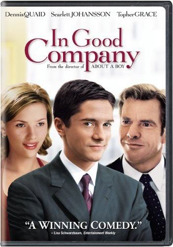 IN GOOD COMPANY - IN GOOD COMPANY - Video BluRay