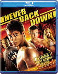 NEVER BACK DOWN (Blu Ray) - Video BluRay