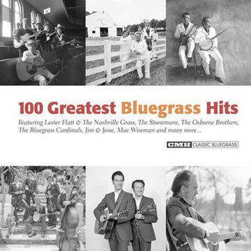 100 GREATEST BLUEGRASS HITS / VARIOUS - 100 GREATEST BLUEGRASS HITS / VARIOUS - CD New