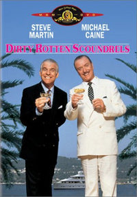 DVD MOVIE - DIRTY ROTTEN SCOUNDRELS (DVD)