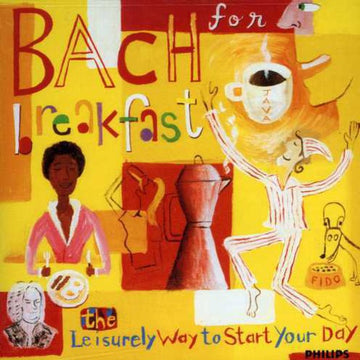 BACH FOR BREAKFAST / VARIOUS - BACH FOR BREAKFAST / VARIOUS - CD New