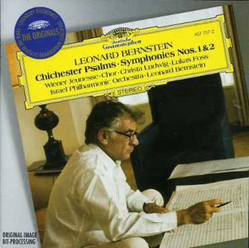BERNSTEIN, LEONARD - CHICHESTER PSALMS / SYMPHONY 1 & 2 (CD) - CD New