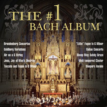 #1 BACH ALBUM / VARIOUS (CD) - CD New