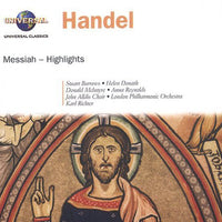 HANDEL / DONATH / REYNOLDS / LALD / LPO - MESSIAH (CD)