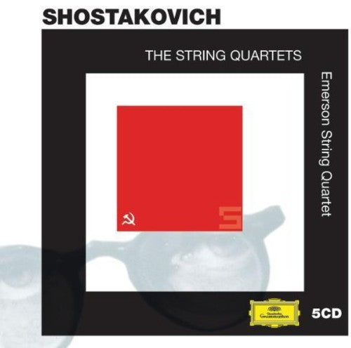 SHOSTAKOVICH / EMERSON STRING QUARTET - STRING QUARTETS - CD New