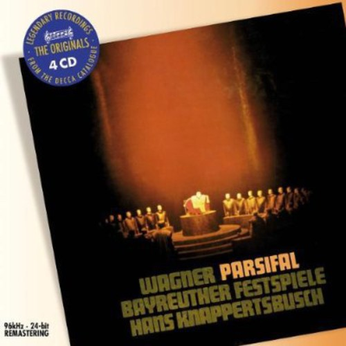 WAGNER / LONDON / TALVELA / BAY / KNAPPE - PARSIFAL (CD)