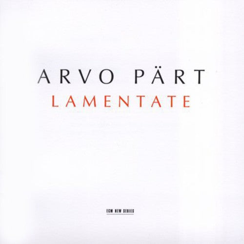 PART, ARVO - LAMENTATE (CD)