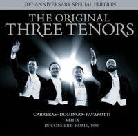 ORIGINAL THREE TENORS - 20TH ANNIVERSARY SPECIAL EDITION (CD) - CD New