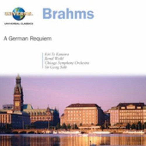 TE KANAWA / BRAHMS / CSO / SOLTI - GERMAN REQUIEM - CD New