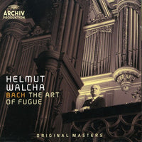 HELMUT / BACH WALCHA - ART OF FUGUE - CD New