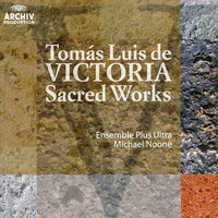 NOONE / ENSEMBLE PLUS ULTRA - TOMAS LUIS DE VICTORIA: SACRED WORKS - CD New