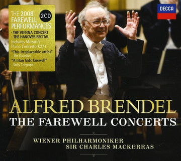 ALFRED BRENDEL - FAREWELL CONCERTS (2CD) - CD New