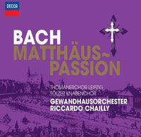 BACH / LGO / CHAILLY - ST MATTHEW PASSION - CD New