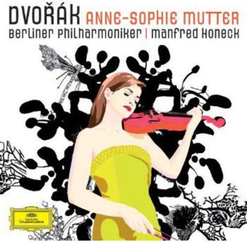 DVORAK / MUTTER / HONECK / BERLINER PHIL - VIOLIN CONCERTO - CD New