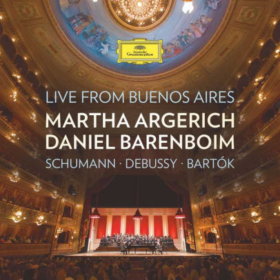 ARGERICH / BARENBOIM - LIVE FROM BUENOS AIRES (SCHUMANN/DEBUSSY - CD New