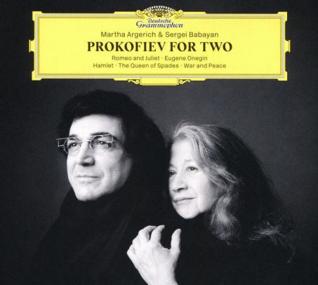 AGERICH,MARTHA / BABAYAN,SERGEI - PROKOFIEV FOR TWO (CD)