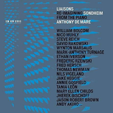 ANTHONY DE MARE - LIAISONS - CD New